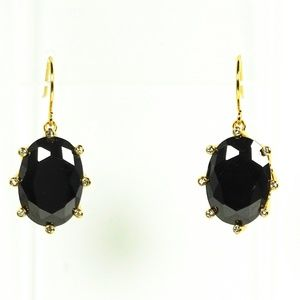 729b875eb743e6 KATE SPADE Black Crystal & Cubic Zirconia Earrings